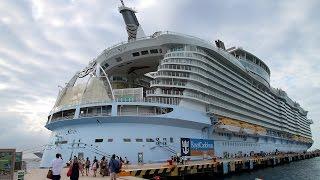Oasis of the Seas - Das größte Kreuzfahrtschiff der Welt  - Biggest Cruise Ship in the world