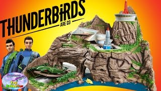 THUNDERBIRDS ARE GO Tracy Island Interactive Playset Review 2015 - SETC