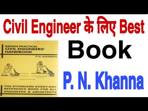 Special Book for Civil Engineering  Student P.N.Khanna Handbook