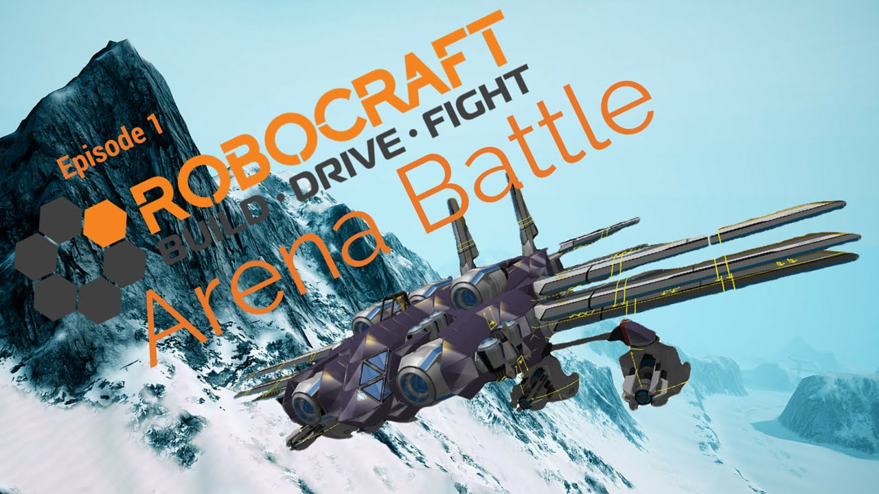 Robocraft arena battle ep 1 youtube