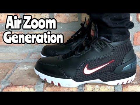 """Nike LeBron 1 Zoom Generation """"Black"""