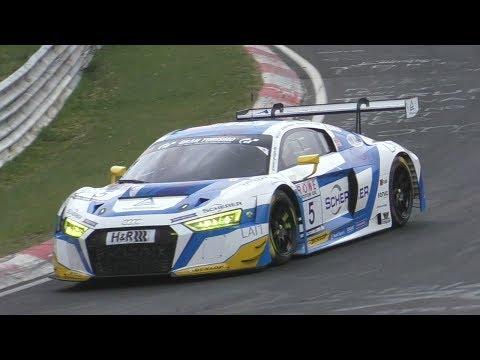 Audi R8 V10 LMS GT3- PURE SOUNDS on Nürburgring!