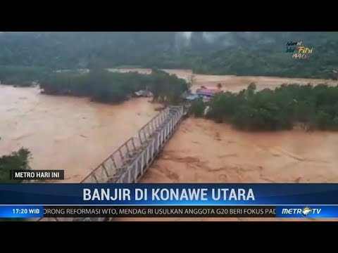 Banjir Besar Melanda Kabupaten Konawe Utara