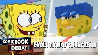 Evolution of SpongeBob SquarePants in Cartoons in 13 Minutes (2018)