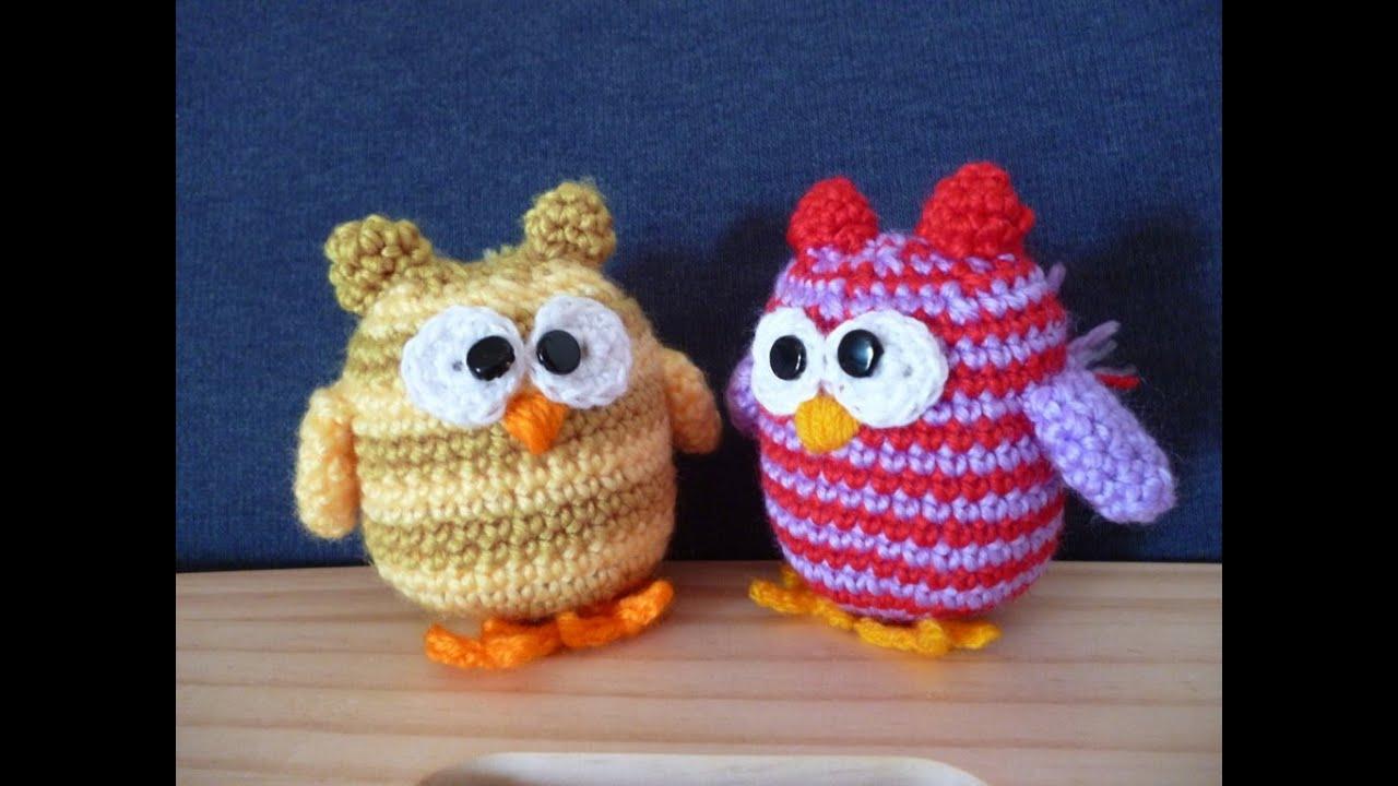 Gufo Uncinetto Amigurumi Tutorial Buho Crochet Owl Crochet