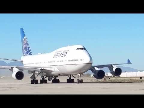Randy's final flight retiring a 747 to Victorville.