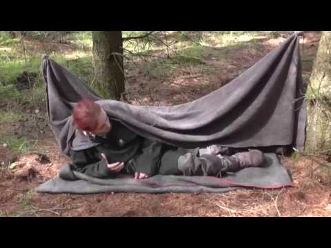 10 things to do with a wool Blanket #5 Emergency shelter