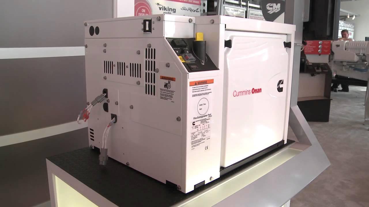 medium resolution of cummins onan marine generator highlights