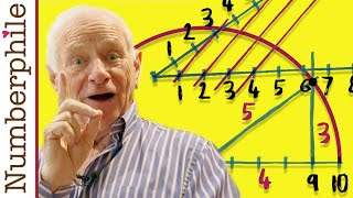 Mesolabe Compass and Square Roots - Numberphile
