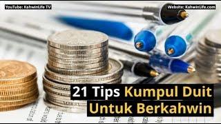 21 tips kumpul duit untuk berkahwin