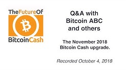 Q&A with BitcoinABC and Others