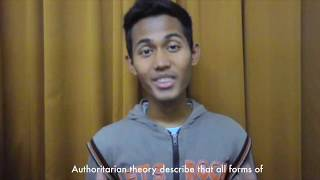What is the Authoritarian Theory - Nas & Irsyad