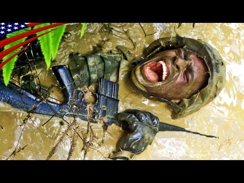 米海兵隊の過酷なジャングル戦闘訓練 (沖縄・北部訓練場・ジャングル戦闘訓練センター)