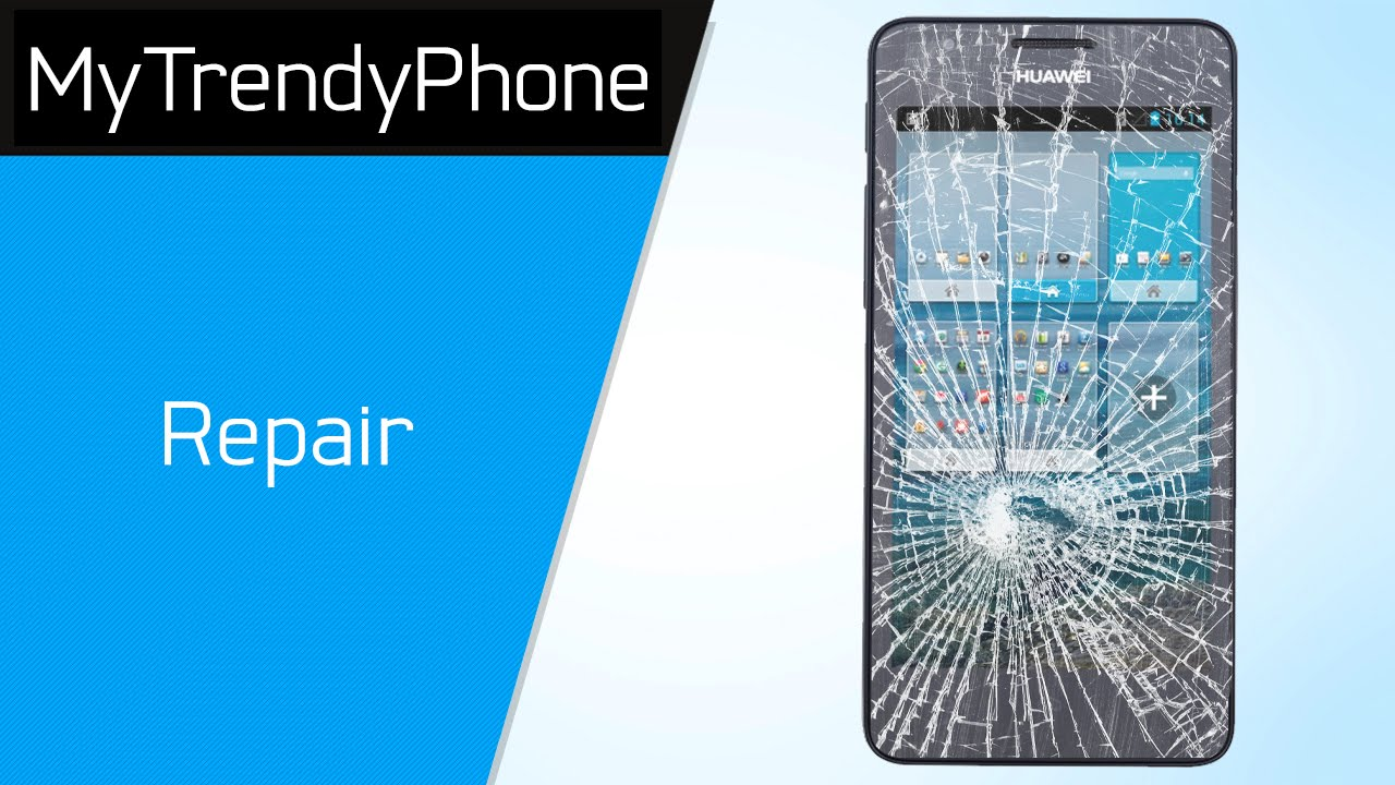 How to repair the display glass and the touch screen on the Huawei Ascend  G510