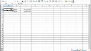 Ввод данных в ячейку в Microsoft Excel 2003 (36/49)