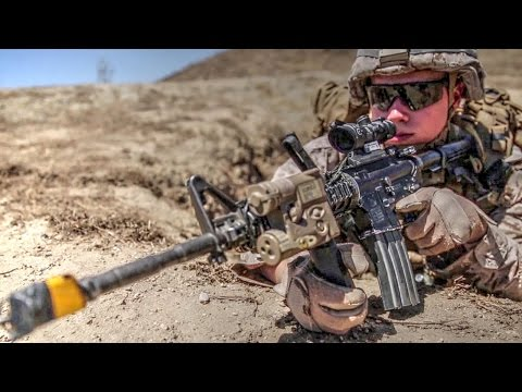 "Marines Compete In ""Super Squad"" Infantry Squad Competition"