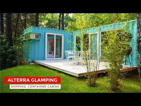 alterra-beach-resort:-shipping-containers-glamping-cabins