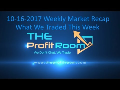 Day Trading Chatroom Profits 10-16 to 20-2017 Weekly Recap