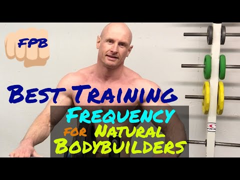 training frequency hypertrophy Best Training Frequency for Natural Bodybuilders