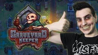 ???? Graveyard Keeper - Symulator Grabarza - Na żywo