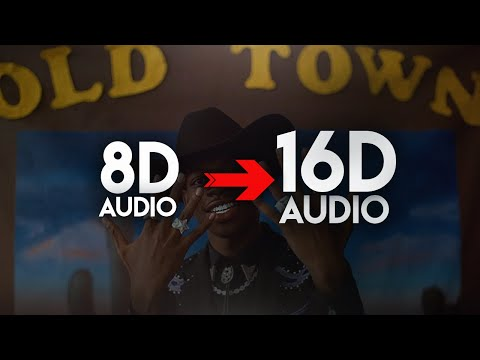 Lil Nas X – Old Town Road (feat. Billy Ray Cyrus) [16D AUDIO | NOT 8D] 🎧