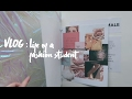 [VLOG] Amsterdam Fashion Institute + 1st Semester Projects | PSITHURIA