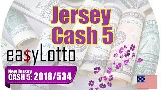CASH 5 NJ winning numbers Jun 19 2018