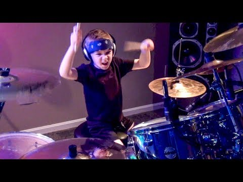 REMEDY  Seether 6 year old Drummer Drum   Avery Drummer Molek