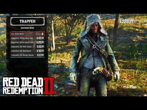 UNLOCKING *LEGENDARY* GHOST BISON OUTFIT LIVE in Red Dead ...