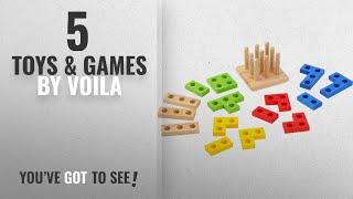 Top 10 Voila Toys & Games [2018]: Voila Stacking Jigsaws