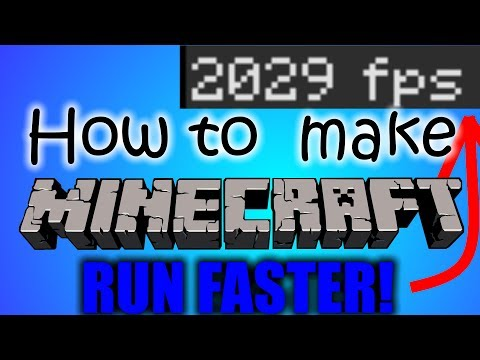 How To Make Minecraft Run Way Faster 100% 2017 [OVER 2K FPS]
