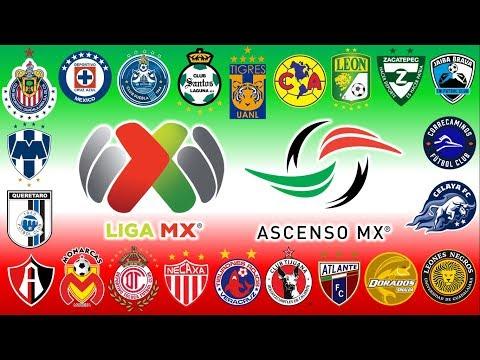 Himnos(Oficiales y no oficiales) | Liga MX y Ascenso MX