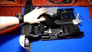 Kyocera FS-2100DN - ремонт убитого лотка.