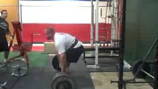 10-3-08 Deadlift 550 x 6 reps