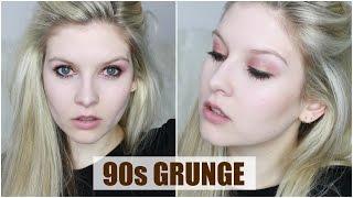 90s Grunge Make Up Tutorial | Chyaz