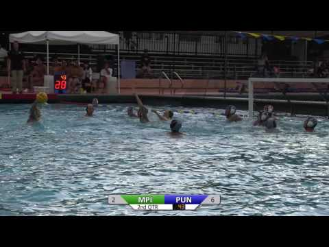 2016 Boys Water Polo: Punahou vs Mid-Pacific Institute Highlights (September 23, 2016)