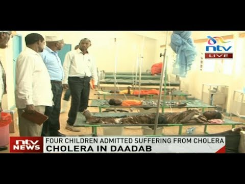 Four children admitted in Dadaab sub county hospital after cholera outbreak