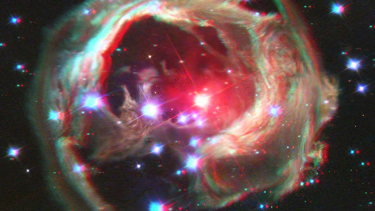 3d Virus Wallpaper The Universe In 3d Anaglyph Youtube