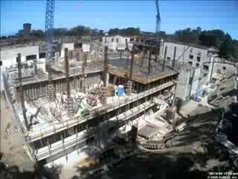 California Academy of Sciences: Construction Time Lapse