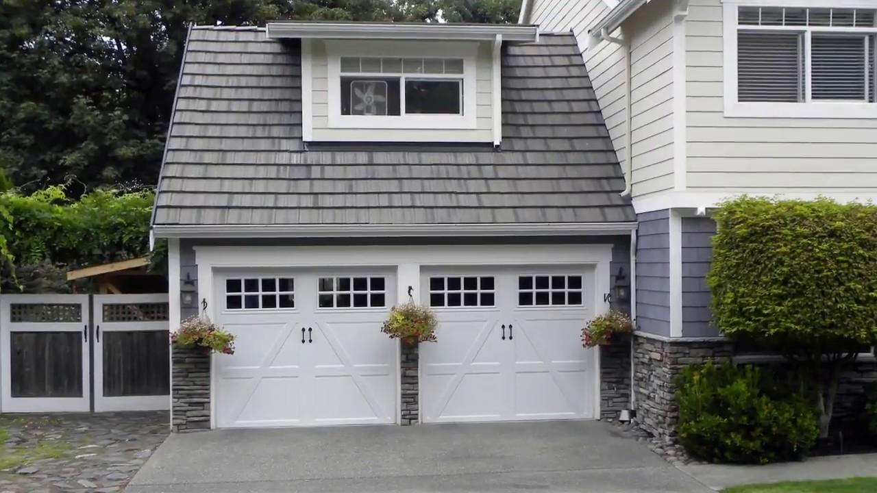 Attractive Modern Classic Garage Doors Designs