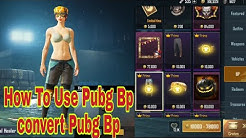 How To Use and Convert Pubg Bp Coin | Kaise Use Kare Bp Coins | Pubg Season 10