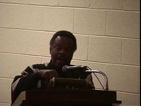 Dr. Molefi Kete Assante, Lecturer at Cheyney University Part 1 of 2   February 28 , 2001