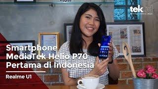 Jajal Realme U1, smartphone dengan mediaTek Helio P70