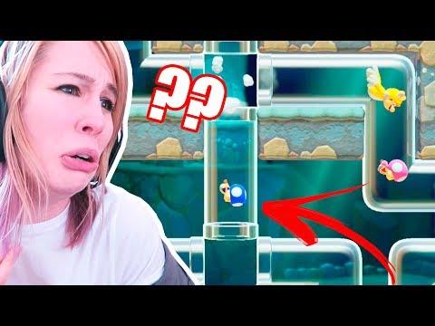 MÁS PERDIDA QUE UN PEDO EN UN JACUZZI | Super Mario Maker 2 Multijugador