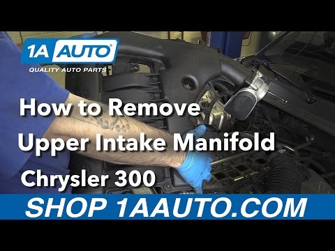 How to Replace Upper Intake Manifold 05-10 Chrysler 300