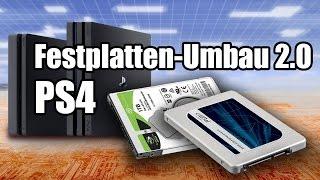 PS4 Festplatten-Umbau 2.0 [Modding, Playstation 4, deutsch]