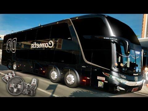 Euro Truck Simulator 2 - EAA Bus - Viação Cometa DD - Marcopolo G7 1800 DD 8x2 - Com Logitech G27