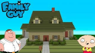 minecraft tutorial how to make the family guy house survival house