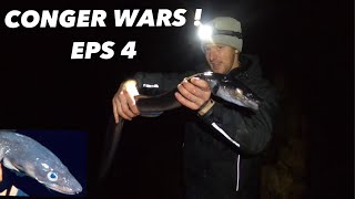 CONGER WARS! Eps4 , Fishing for Conger Eel At Night !