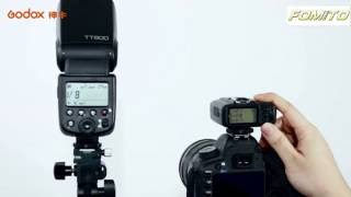 Fomito GODOX TT600 2.4G Operating Video